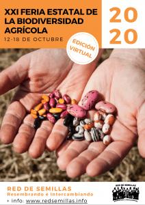 XXI Feria Estatal de la Biodiversidad Cultivada 2020